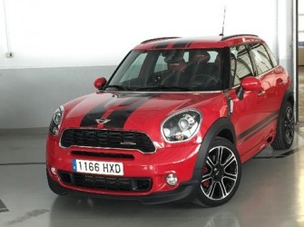 MINI John Cooper Works Countryman Rojo Gasolina 1584397E
